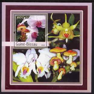 Guinea - Bissau 2003 Orchids & Fungi perf s/sheet containing 1 value unmounted mint Mi BL388