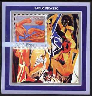 Guinea - Bissau 2003 Nude Paintings by Picasso perf s/sheet containing 1 value unmounted mint Mi BL392