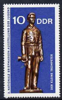Germany - East 1970 The Little Trumpeter 10pf unmounted mint, SG E1334