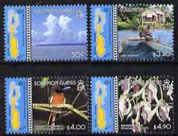 Solomon Islands 2001 East Rennell as World Heritage Site perf set of 4 unmounted mint, SG 969-72