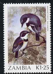 Zambia 1987 Birds - 1k25 Flycatcher unmounted mint, SG 494