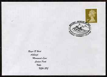 Postmark - Great Britain 2008 cover for Rescue at Sea with special illustrated Poole cancel