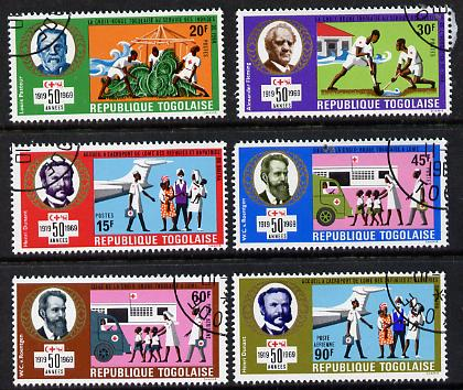 Togo 1969 Red Cross Societies set of 6 cto used, SG 668-73*