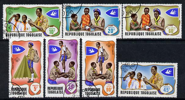 Togo 1968 Scouts set of 7 cto used, SG 613-19*