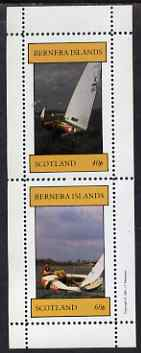 Bernera 1981 Sailing perf set of 2 values (40p & 60p) unmounted mint