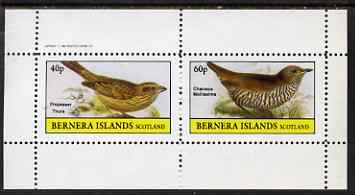 Bernera 1982 Birds #49 perf set of 2 values unmounted mint