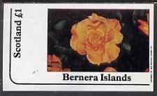 Bernera 1983 Roses imperf souvenir sheet (�1 value) unmounted mint