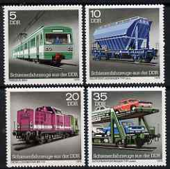 Germany - East 1979 Locomotives & Wagons perf set of 4 unmounted mint, SG E2124-27