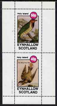 Eynhallow 1982 Birds #48 (Weaver & Whip Poor Will) perf set of 2 values unmounted mint, stamps on birds