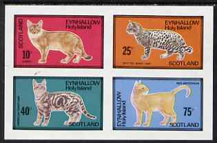 Eynhallow 1983 Domestic Cats perf set of 4 values unmounted mint