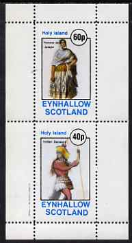 Eynhallow 1982 Costumes #04 (Woman from Jalapa & Dancing Indian) perf set of 2 values unmounted mint