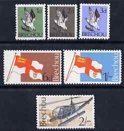 Brecqhou 1969 definitive set of 6 unmounted mint (Rosen B1-6) on sale for one day only with only 25,000 sets produced