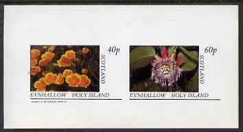 Eynhallow 1983 Flowers imperf set of 2 values unmounted mint