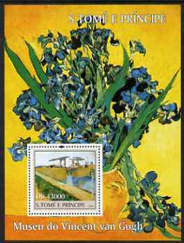 St Thomas & Prince Islands 2004 The Van Gogh Museum perf s/sheet containing 1 value unmounted mint  Mi BL 496