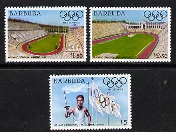 Barbuda 1984 Olympic Games (2nd series) set of 3 unmounted mint, SG 731-3