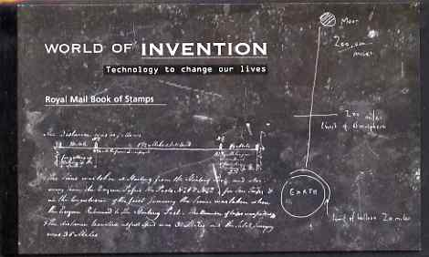 Booklet - Great Britain 2007 The World of Invention \A37.49 Prestige booklet complete and very fine, SG DX38
