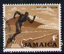 Jamaica 1964-68 National Stadium (Running) 1s fine cds used SG226