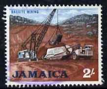 Jamaica 1964-68 Bauxite Mining 2s fine cds used SG228, stamps on minerals, stamps on trucks