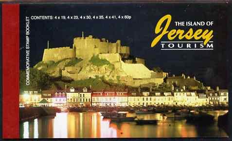 Booklet - Jersey 1996 Tourism �8.32 Prestige booklet complete, SG SB54