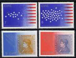 Ireland 1976 Bicentenary of US Revolution perf set of 4 unmounted mint, SG 391-4
