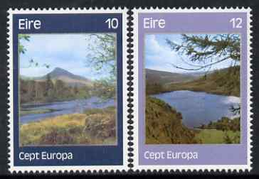 Ireland 1977 Europa - Landscapes perf set of 2 unmounted mint, SG 406-7