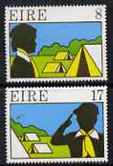 Ireland 1977 Scouting & Guiding perf set of 2 unmounted mint, SG 409-10