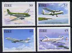 Ireland 1999 Commercial Aviation perf set of 4 unmounted mint SG 1266-69