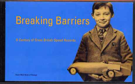 Booklet - Great Britain 1998 Breaking Barriers \A36.16 Prestige booklet complete and very fine, SG DX21