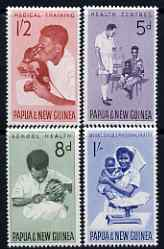 Papua New Guinea 1964 Health Services perf set of 4 unmounted mint, SG 57-60