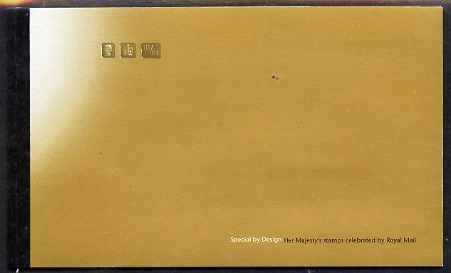 Booklet - Great Britain 2000 Special by Design \A37.50 Prestige booklet complete & very fine SG DX24