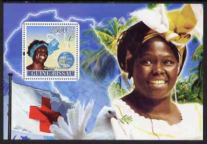 Guinea - Bissau 2008 Female Heroes of Peace - Nobel Prize Winners #1 perf souvenir sheet unmounted mint