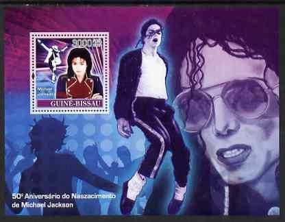 Guinea - Bissau 2007 Michael Jackson perf souvenir sheet unmounted mint