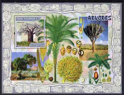 Mozambique 2007 Trees & Fruits perf souvenir sheet unmounted mint Yv 151