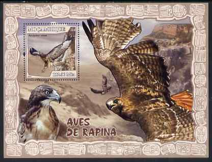 Mozambique 2007 Birds of Prey perf souvenir sheet unmounted mint Yv 152