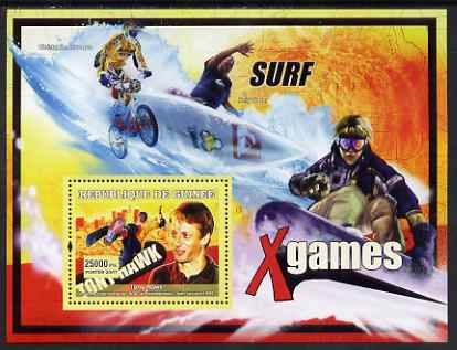 Guinea - Conakry 2007 Sports - Extreme Sports perf souvenir sheet unmounted mint Yv 461