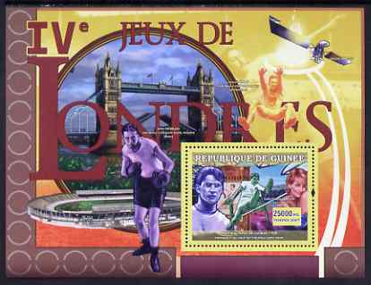 Guinea - Conakry 2007 Sports - 1908 London Olympic Games perf souvenir sheet unmounted mint Yv 477