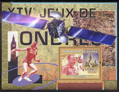 Guinea - Conakry 2007 Sports - 1948 London Olympic Games perf souvenir sheet unmounted mint Yv 490