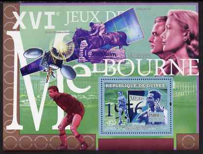 Guinea - Conakry 2007 Sports - 1956 Melbourne Olympic Games perf souvenir sheet unmounted mint Yv 516