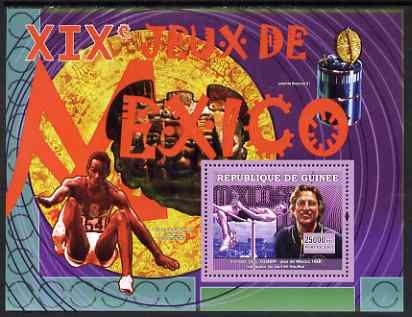 Guinea - Conakry 2007 Sports - 1968 Mexico Olympic Games perf souvenir sheet unmounted mint Yv 498