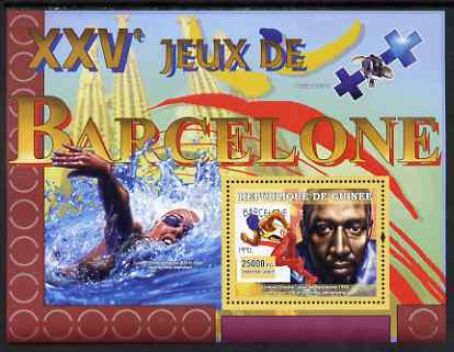 Guinea - Conakry 2007 Sports - 1992 Barcelona Olympic Games perf souvenir sheet unmounted mint Yv 504