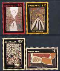 Australia 1993 Dreamings paintings by Aboriginal Artists set of 4 unmounted mint, SG1388-91