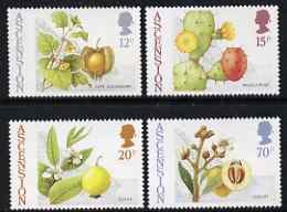 Ascension 1987 Edible Bush Fruits set of 4 unmounted mint, SG 424-27