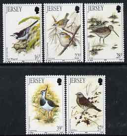 Jersey 1992 Winter Birds sets of 5 unmounted mint, SG 568-72