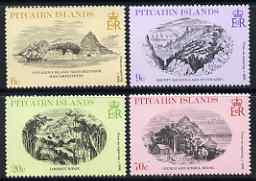 Pitcairn Islands 1979 19th Century Engravings set of 4 unmounted mint, SG 196-99