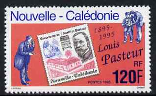 New Caledonia 1995 Death Centenary of Louis Pasteur (Chemist) unmounted mint, SG 1030