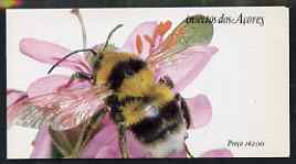 Booklet - Portugal - Azores 1984 Insects (1st series) 142E booklet (Bee on Cover) complete and very fine, SG SB5