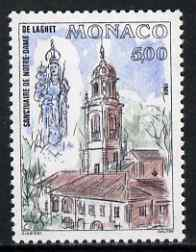 Monaco 1988 Restoration of Sanctuary of Our Lady of Laghet unmounted mint, SG 1883