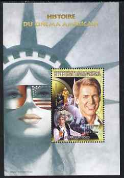 Madagascar 1999 History of American Cinema - Harrison Ford perf m/sheet unmounted mint. Note this item is privately produced and is offered purely on its thematic appeal