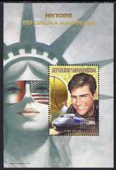 Madagascar 1999 History of American Cinema - Tom Cruise perf m/sheet unmounted mint. Note this item is privately produced and is offered purely on its thematic appeal