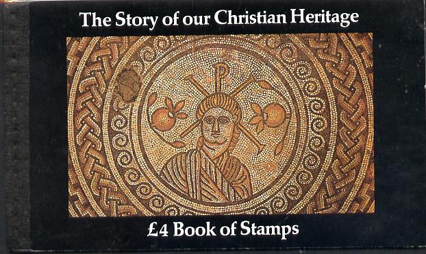 Booklet - Great Britain 1984 The Story of Christian Heritage \A34 Prestige booklet complete & very fine SG DX5